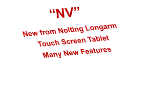 �NV� New from Nolting Longarm Touch Screen Tablet Many New Features