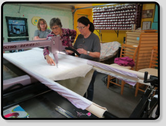longarm class taught by joyce blowers in alaska