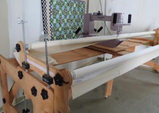 Nolting Fun Quilter used machine Delightful Quilting & Sewing Avon NY