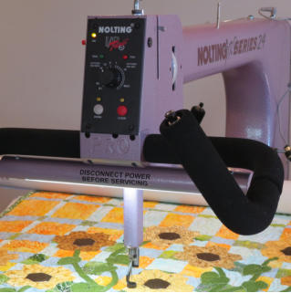 Nolting PRO longarm machine used Delightful Quilting & Sewing Avon NY