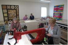 delightful quilting and sewing studio and classroom