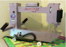 nolting fun quilter mid-arm quilting machine