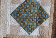 Sampler Block - Quiltmagine Free Patterns, Sashing - Purchased Pattern