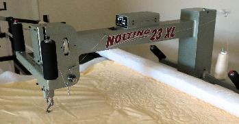 Nolting XL23 Fun Quilter longarm machine