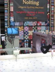 Delightful Quilting & Sewing quilt show vendor booth